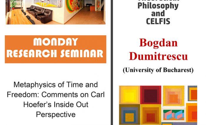 seminar filosofie - Bogdan Dumitrescu