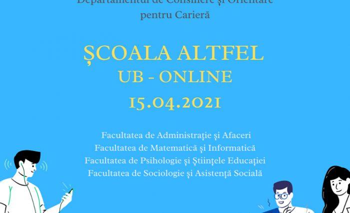 Scoala Altfel UB