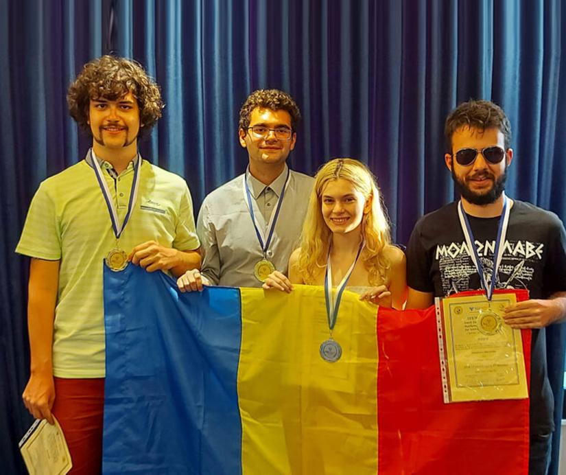 SEEMOUS 2021 unibuc podium aur olimpiada
