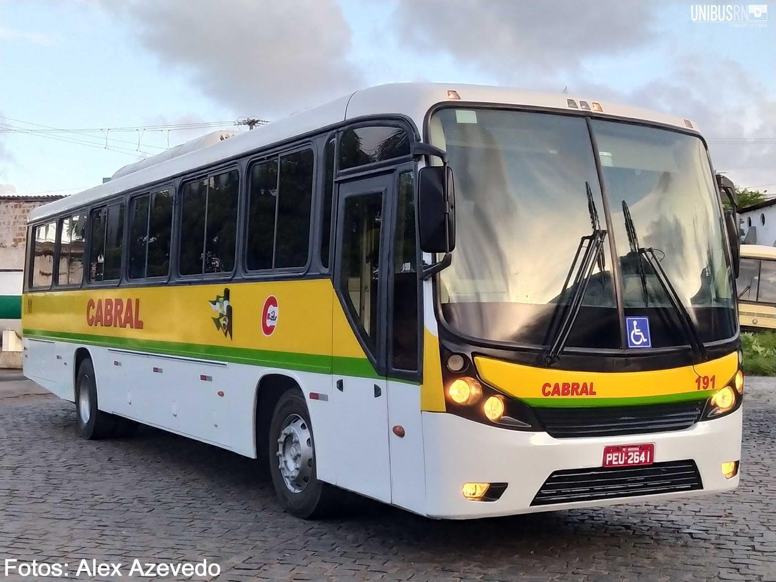 Novidade: Expresso Cabral recebe mais um veículo para sua frota