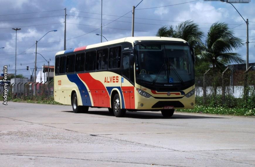 Com decreto impondo toque de recolher em tempo integral aos domingos, empresas do transporte intermunicipal potiguar suspendem viagens
