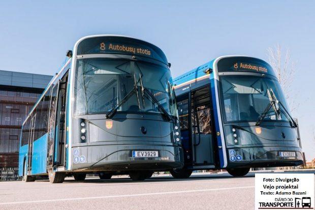 Lituânia desenvolve ônibus elétrico feito de garrafa pet