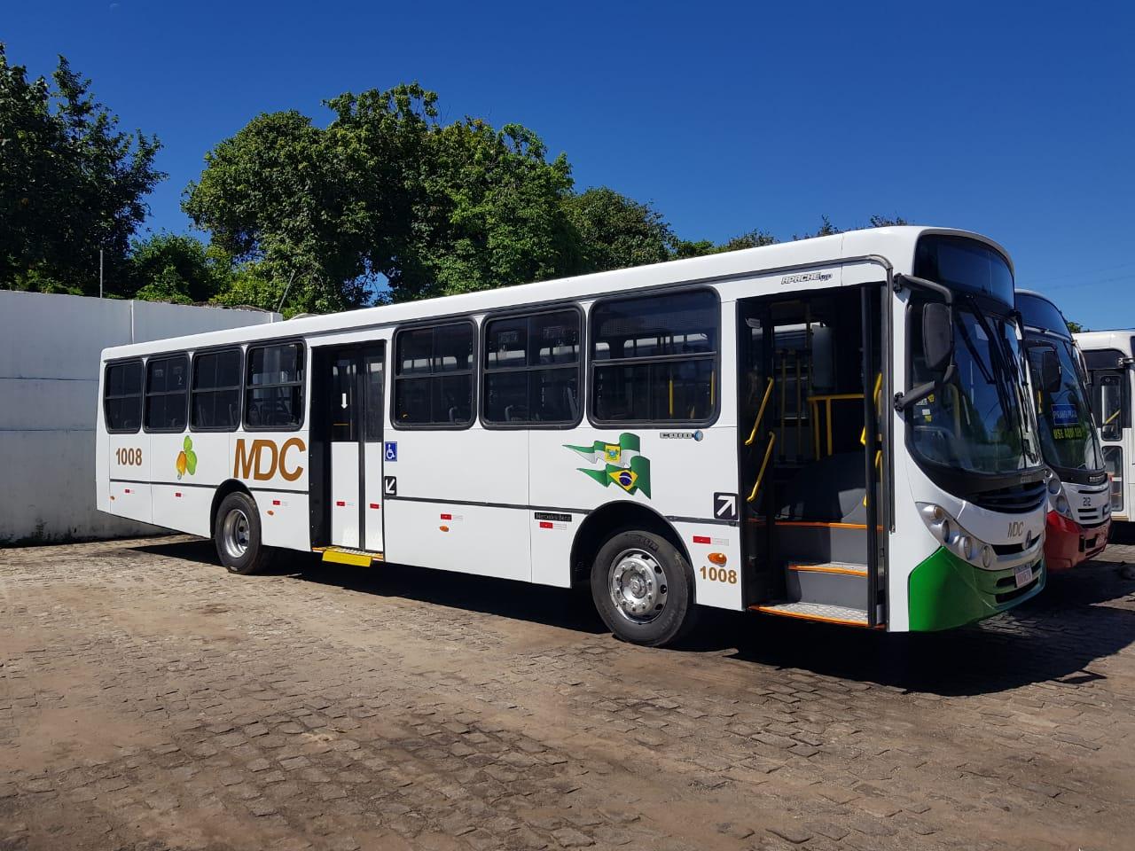 MDC inclui mais um ônibus em sua frota