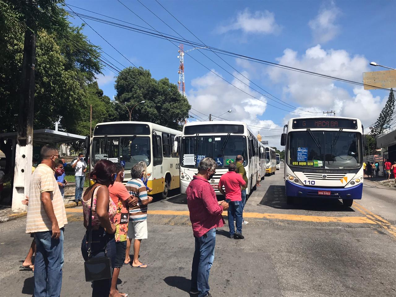 Natal: Rodoviários param ônibus mais uma vez