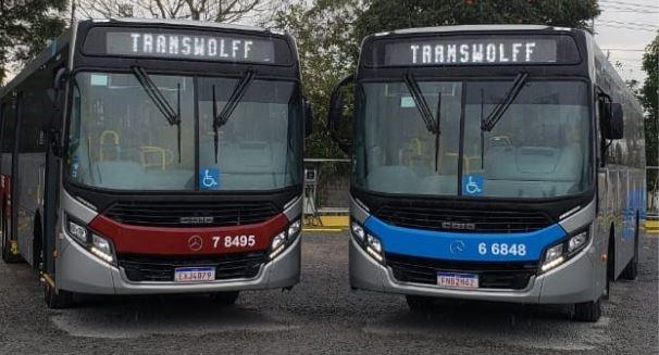 SP: Transwolff renova frota com OF-1724 e reafirma predileção por ônibus urbano Mercedes-Benz