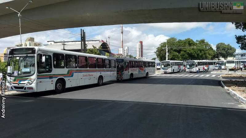 Natal: Com 70% dos ônibus nas ruas a partir de segunda-feira, confira linhas que voltarão a circular