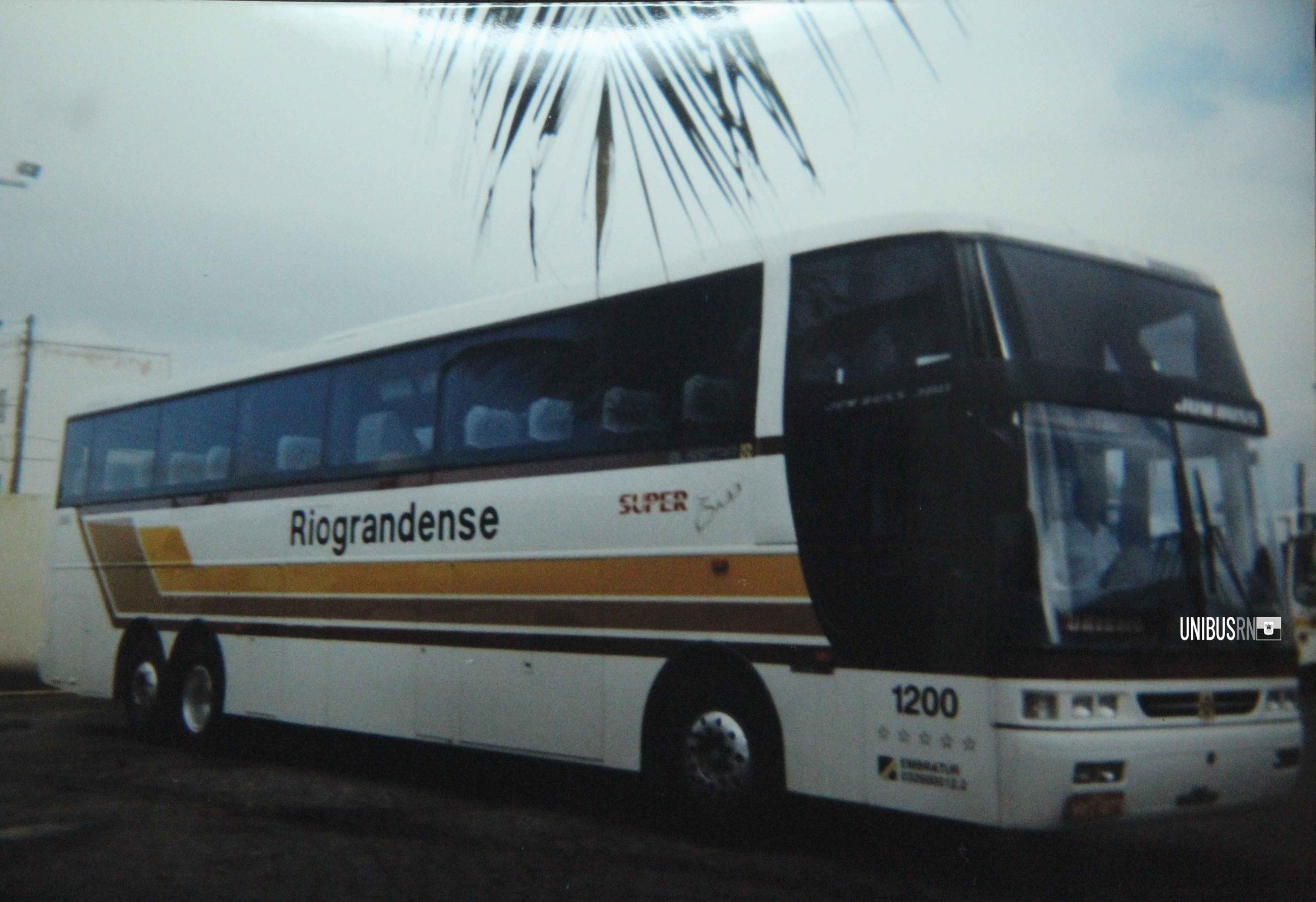 #TBT UNIBUS RN: Riograndense, 1110 e 1200