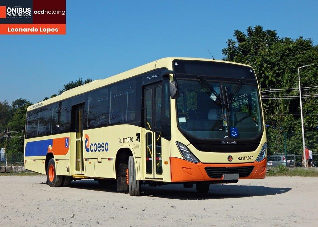 RJ: Coesa Transportes recebe 12 veículos da Marcopolo