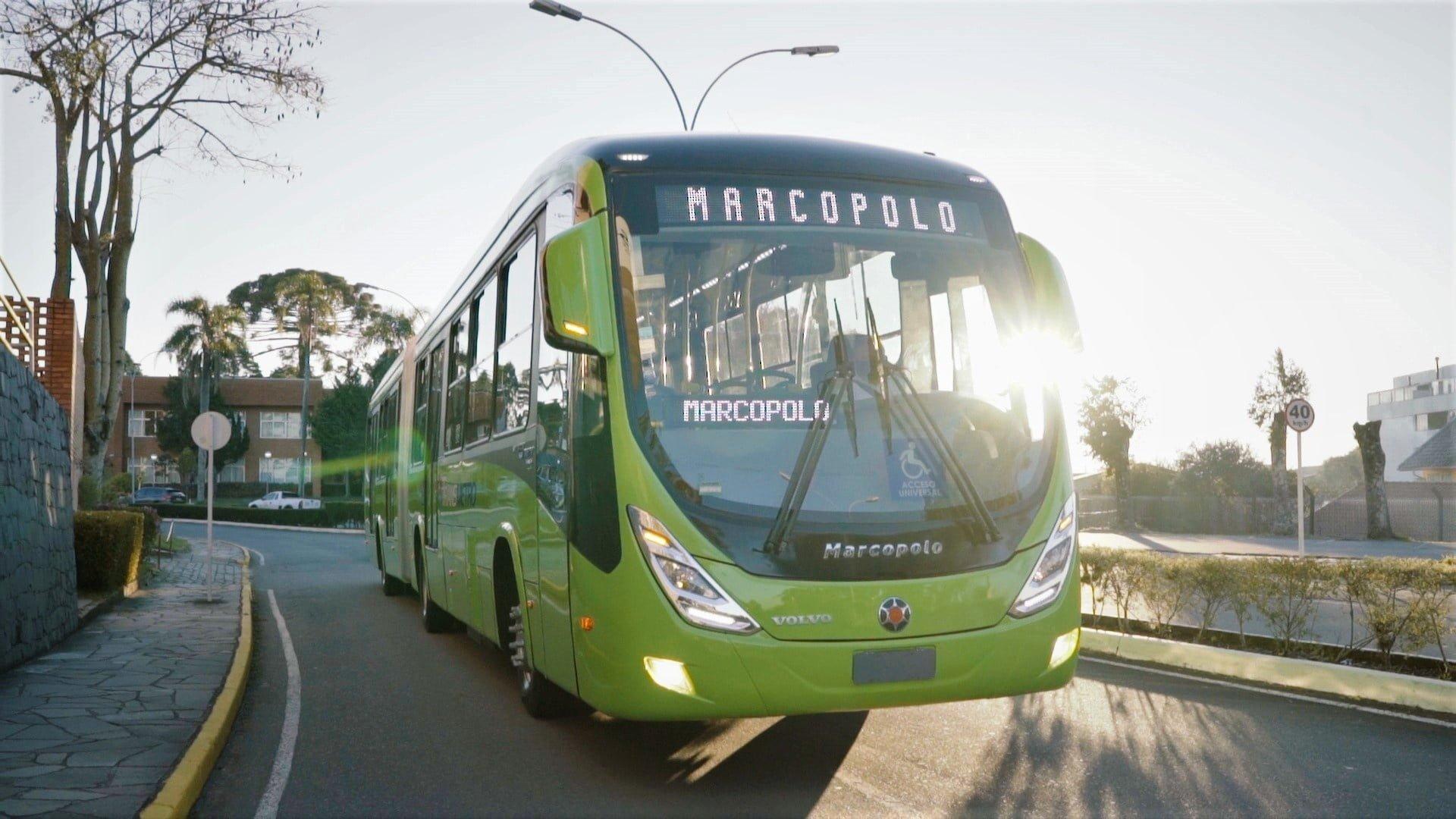 Internacional: Volvo e Marcopolo exportam mais 20 ônibus articulados para BRT da Guatemala