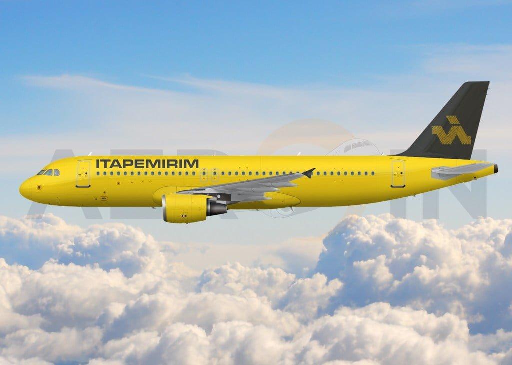 ITA, aérea do Grupo Itapemirim, irá voar com o Airbus A320 e seleção começa na semana que vem
