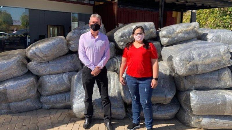 SP: Grupo Caio doa mil cobertores para o Fundo Social de Botucatu