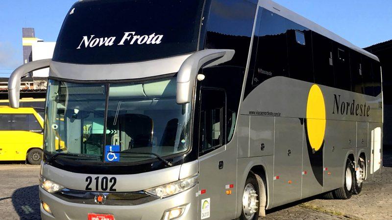 Novos ônibus do modelo 'LD' na Viação Nordeste