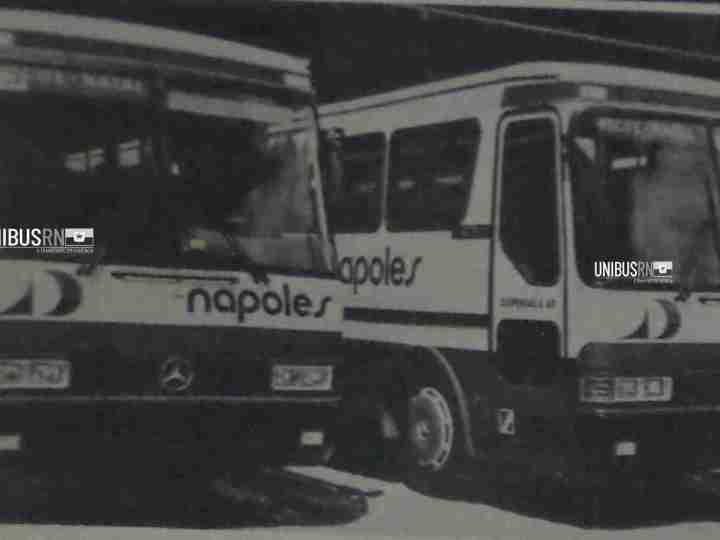 #TBT Unibus RN: A renovação da Nápoles com Monoblocos Mercedes-Benz