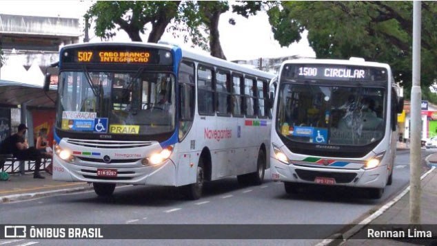 João Pessoa reforça frota em oito linhas de ônibus a partir de amanhã