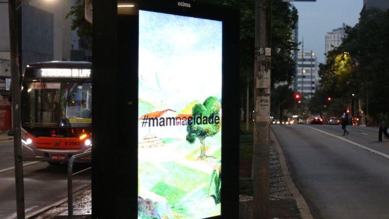 SP: MAM põe reproduções de suas obras em pontos de ônibus