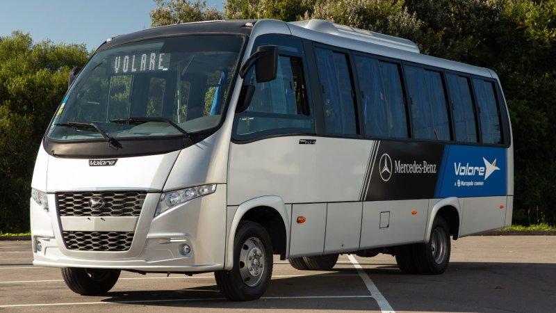 Internacional: Mercedes-Benz e Volare lançam novo micro-ônibus urbano em El Salvador