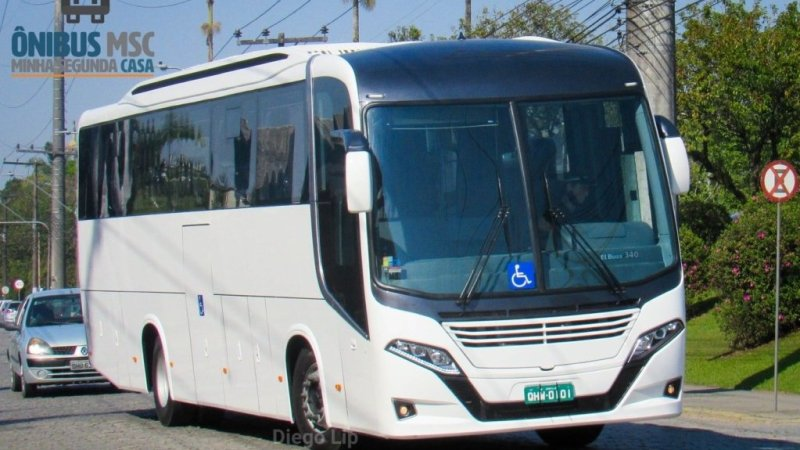 Busscar apresenta o El Buss 340