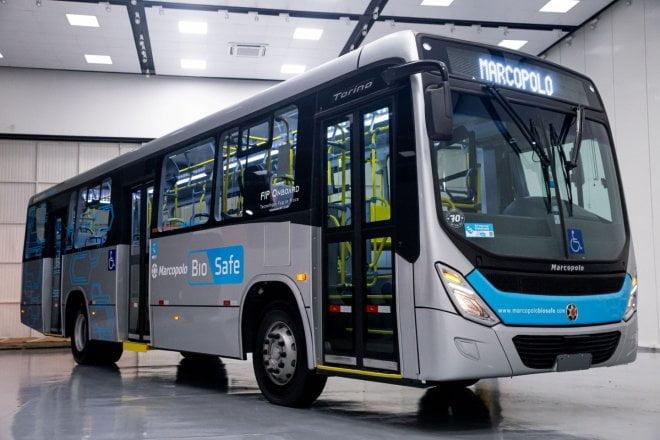 """Rodrigo Pikussa, diretor da Marcopolo: """"A troca de ar nos ônibus é suficiente para reduzir contágio"""""""
