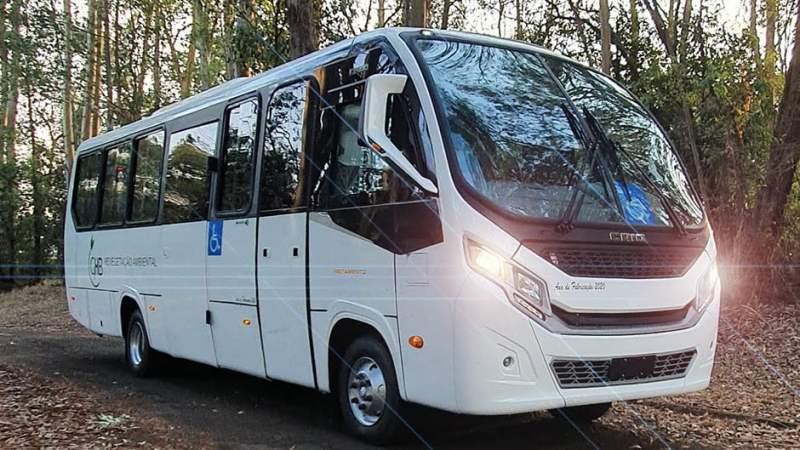 SP: Caio entrega os primeiros micro-ônibus na versão executiva com new face