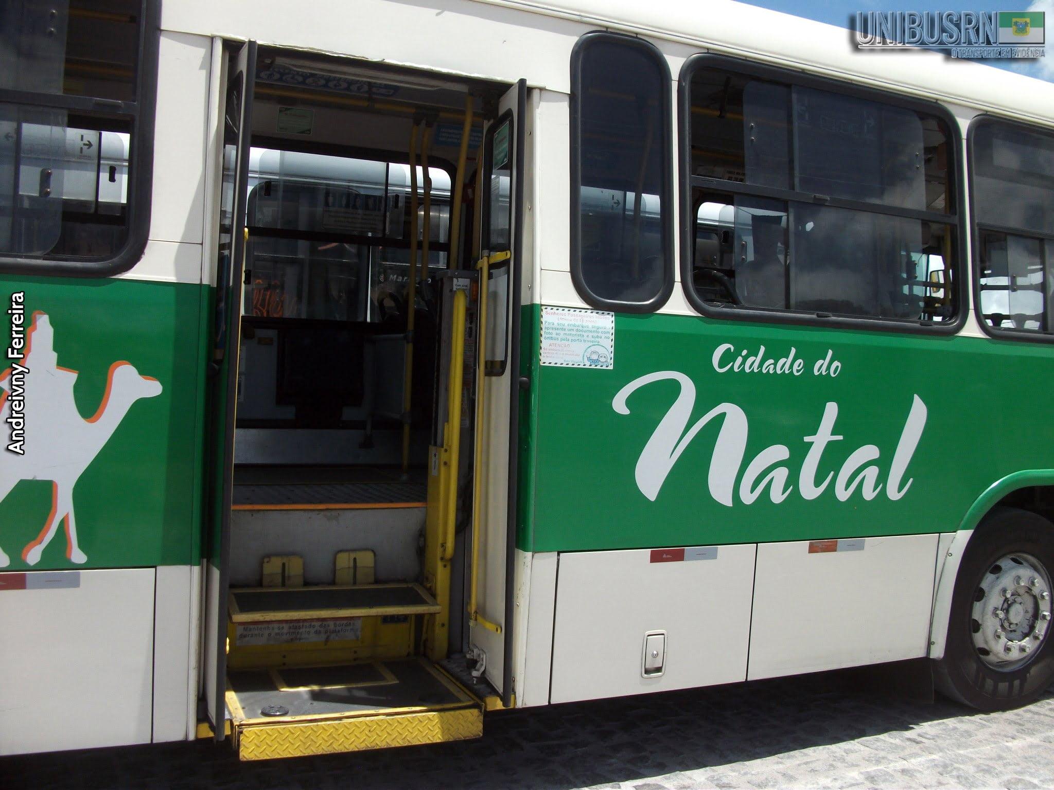 #TBT UNIBUS RN: Ônibus da Cidade do Natal rodando em linha da Zona Norte?