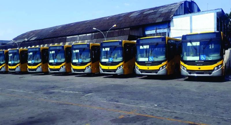 SP: Transunião reforça frota com 60 novos Volksbus