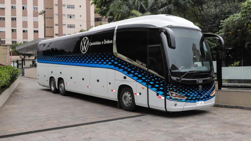 Ônibus VIP equipa a frota da VW Caminhões e Ônibus