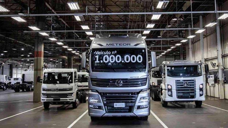 VWCO atinge marco de 1 milhão de veículos produzidos