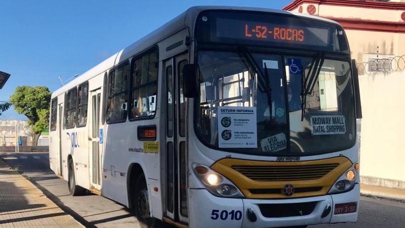 Transporte público em Natal será reforçado no domingo