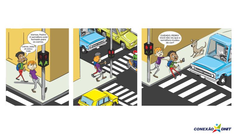 Atividades do Conexão DNIT ajudam a conscientizar alunos e pais sobre os riscos do uso do celular no trânsito