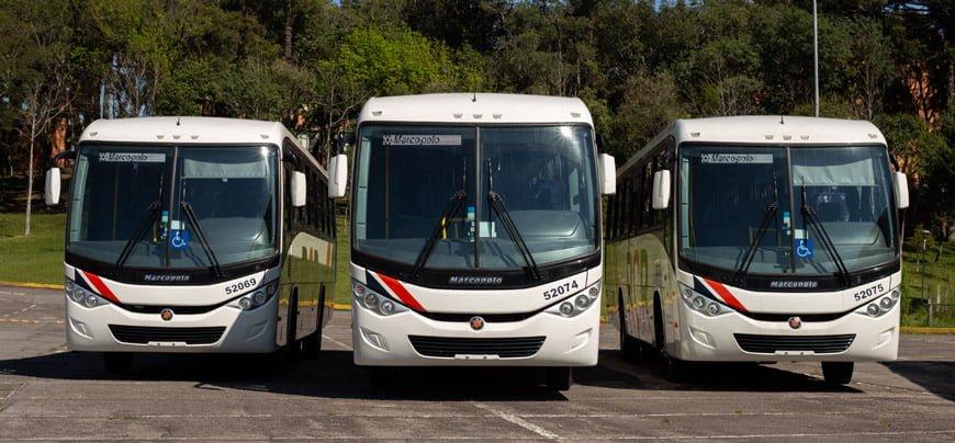 Mercedes-Benz fornece 123 ônibus para operadora RCR Locação