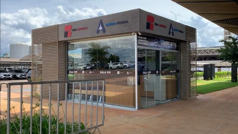 Aeroporto de Brasília inaugura serviço de venda de passagem de ônibus interestadual