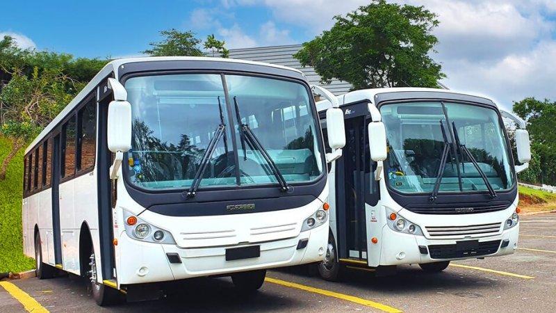 Caio fornece ônibus F2500 para o Tahiti