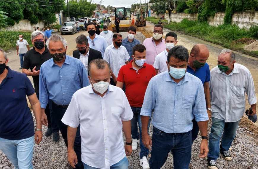 Ministro Rogério Marinho visita obras de expansão do sistema da CBTU Natal