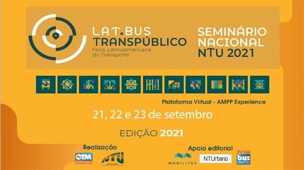 Abertas as inscrições para Seminário Nacional NTU e Feira Lat.Bus Transpúblico