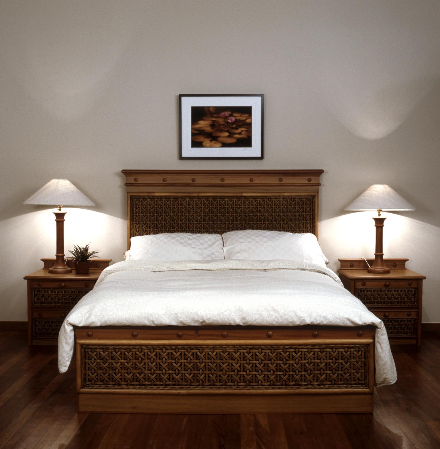 wicker and rattan bedroom furniture