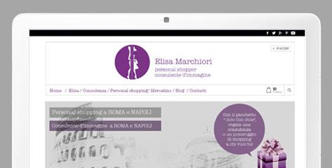 anteprima sito elisa marchiori