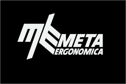 Azienda logotipo in negativo