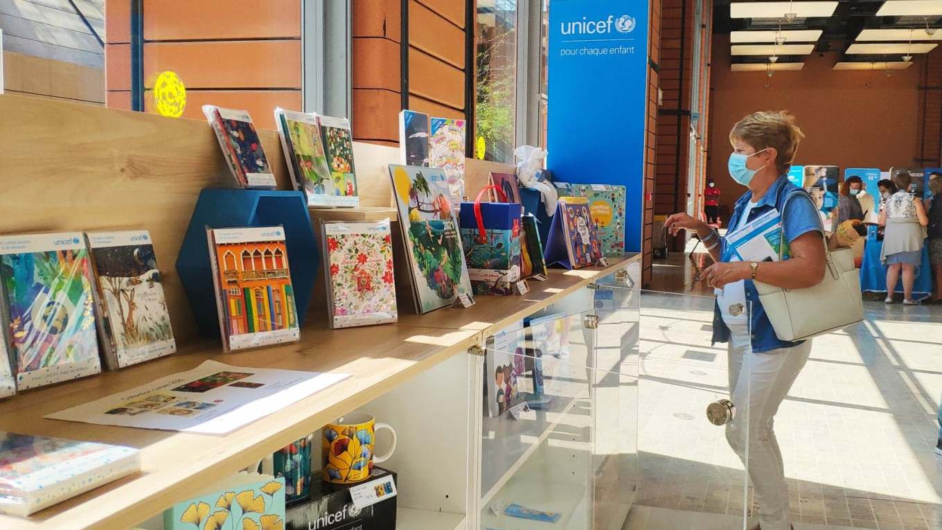 Ventes solidaires UNiCEF