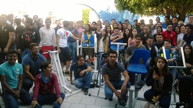 Alumnos Uni diseñan bicicleta terapéutica.