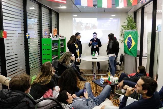 La oportunidad de conocer una cultura nueva y aprender una lengua nueva