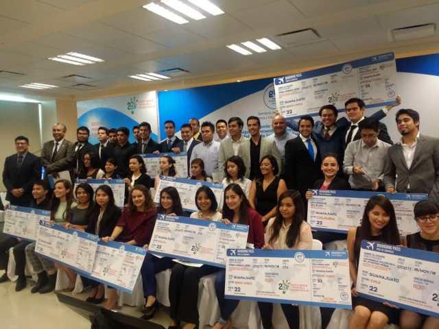 Ganadores de premio por internacionalización en casa.
