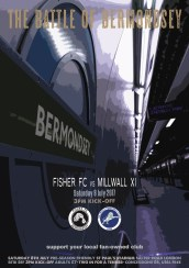 Fisher v Millwall Sat 8 Jul pre-season friendly