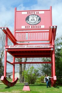 Route 66 Red Rocker