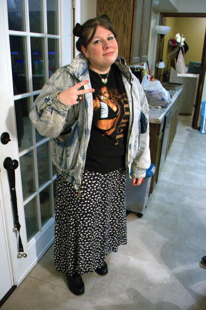 4b5e6d2992dc First up of our 90s outfit ideas involves seeking out real pieces from the  90s. They're often inexpensive at thrift stores. If you want to spend a  little ...
