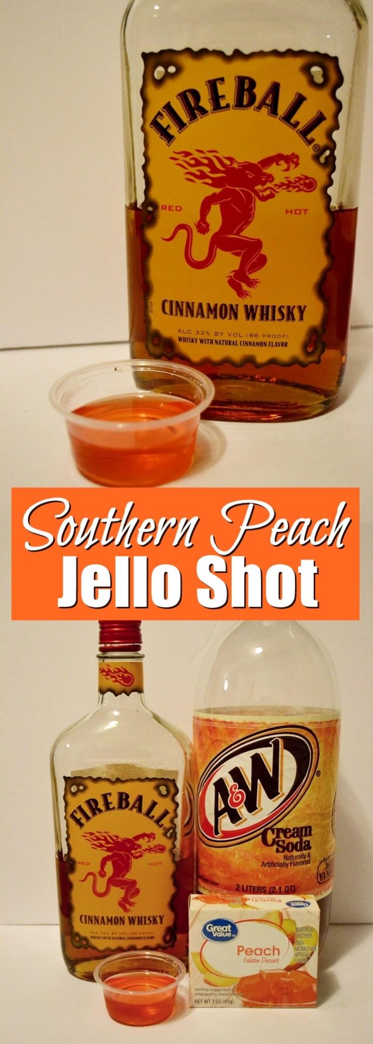 Southern Peach Jello Shots | Unicorn Hideout