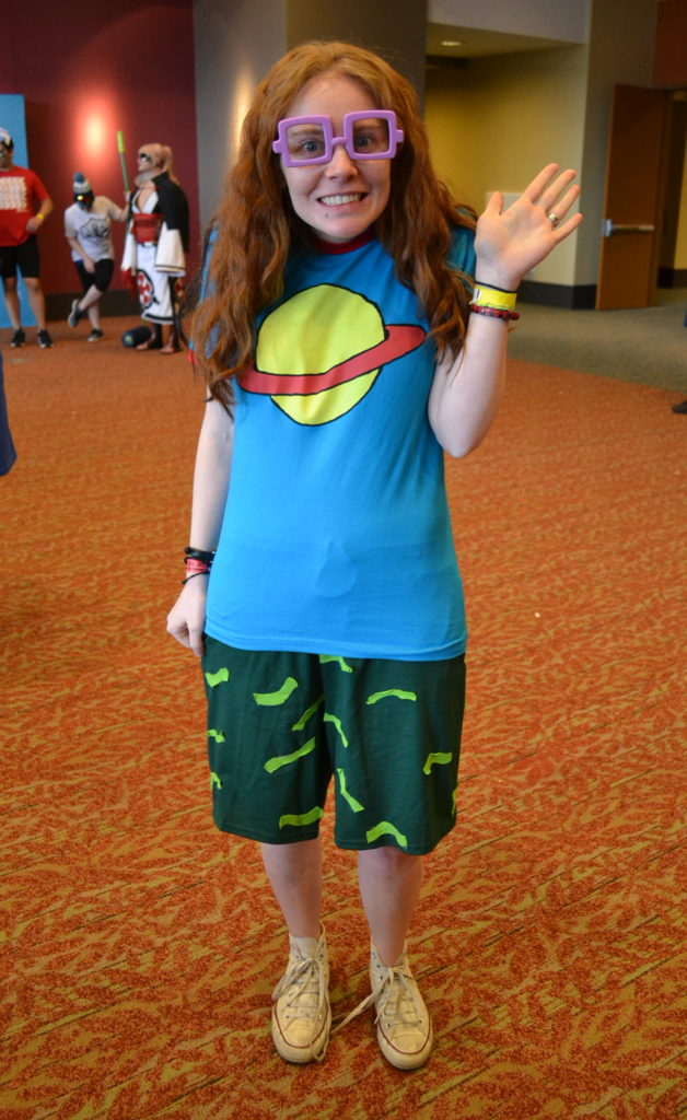 Chuckie from rugrats crossplay