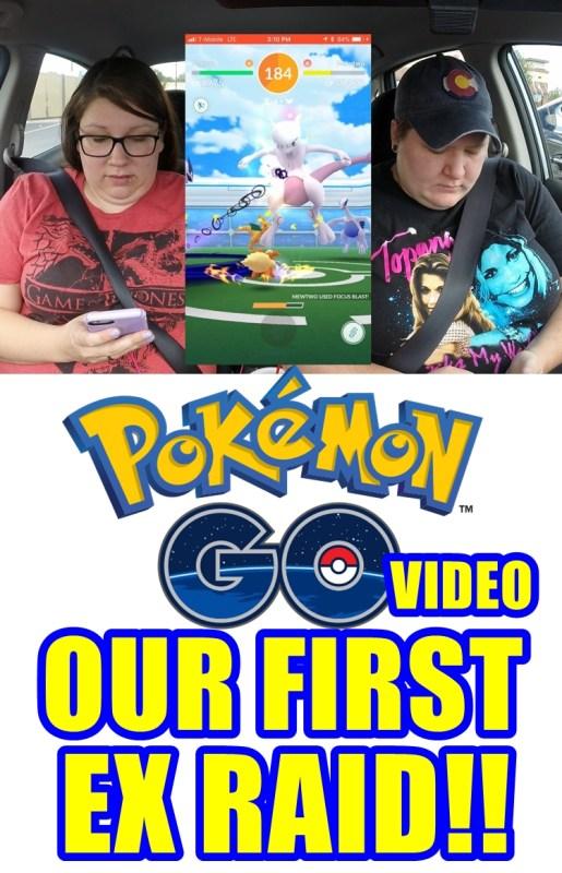 Pokemon GO Ex Raid for Mewtwo