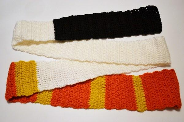 Sushi Scarf Free Crochet Pattern