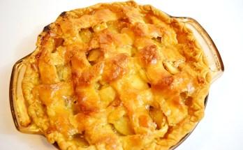 Candied Crust Apple Pie Recipe