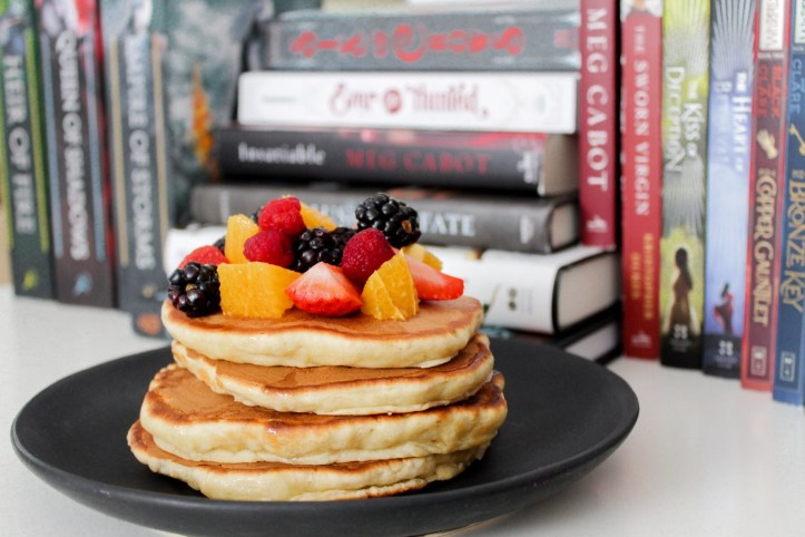 Pancakes and books